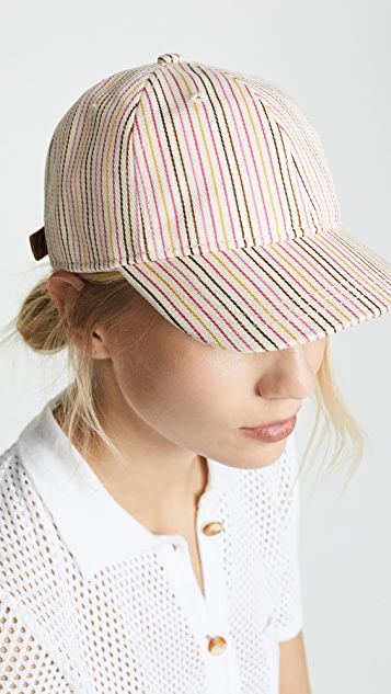 Madewell Multi Colored Stripe Baseball Hat
