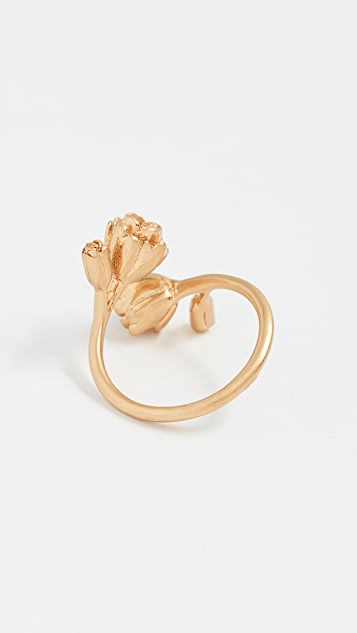 Madewell Flower Wrap Ring
