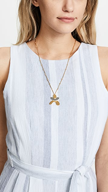 Madewell Organic Man Pendant Necklace