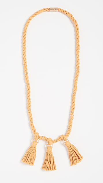 Madewell Rope & Tassel Necklace