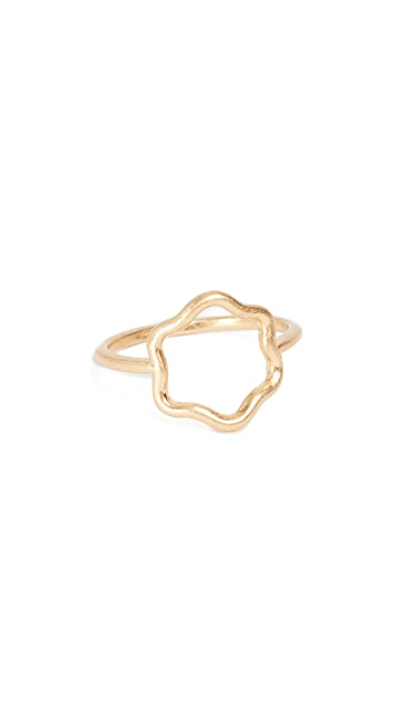 Madewell Wobbly Circle Ring