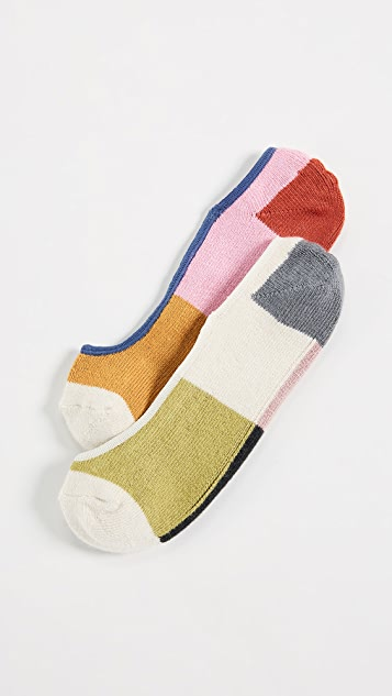 Madewell Mix Match No Show Sock Set