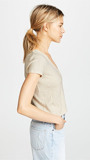 Madewell Miller Short Sleeve Top