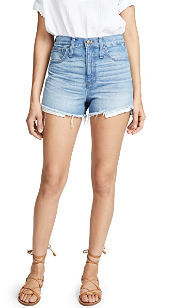 Madewell The Perfect Jean Shorts: Step Hem Edition