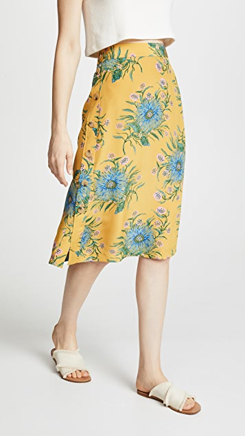 8cee3da89922 Madewell Painted Blooms Skirt | SHOPBOP
