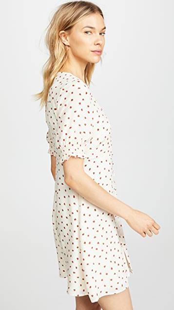 Madewell Stawberries Retro Dress