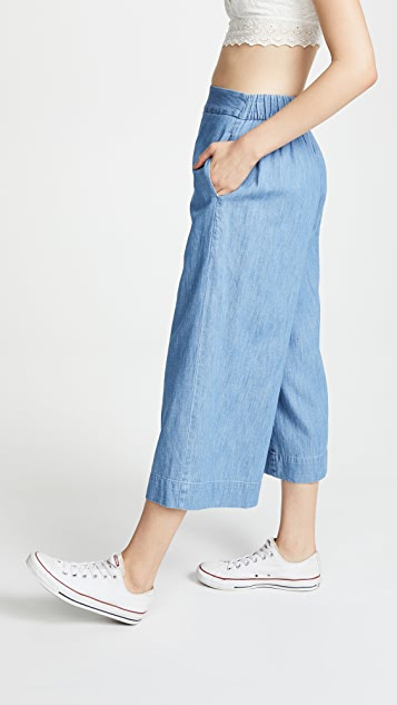 Madewell Huston Crop Pants