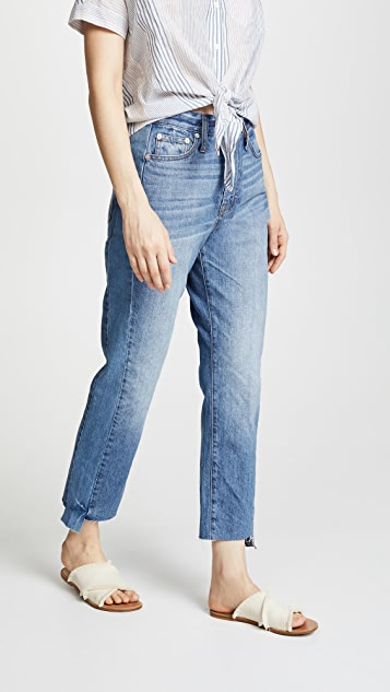 fc2aca4642c3 Madewell Pieced Perfect Summer Jeans