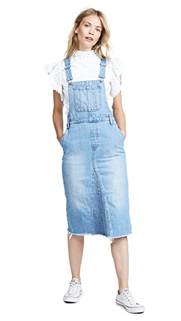 Madewell Reconstructed Overall Jumper