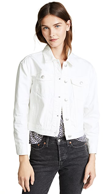 Madewell The Boxy-Crop Jean Jacket