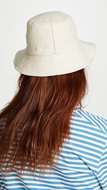 Madewell Canvas Small Bucket Hat