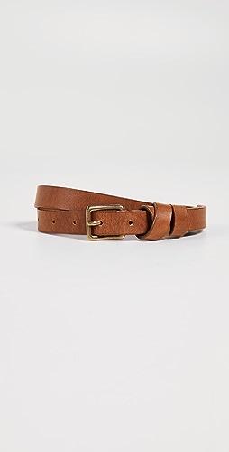 Madewell - Leather Crisscross Skinny Belt