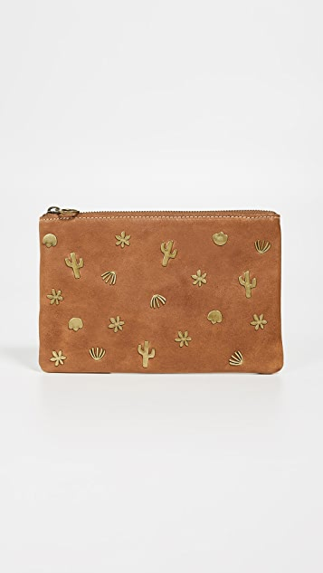 Madewell Pouch with Rivets