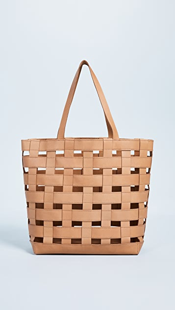 Madewell Woven Transport Tote Bag