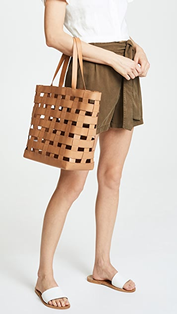 Woven Transport Tote Bag by Madewell