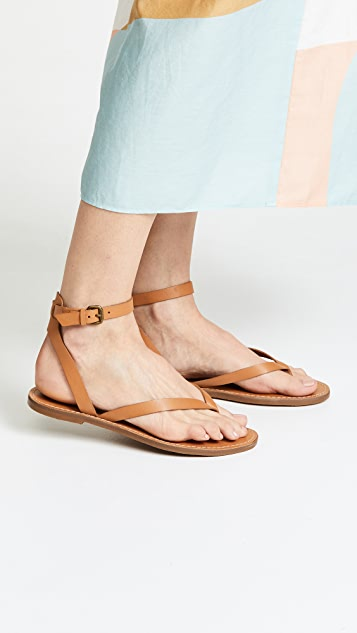 Madewell The Boardwalk Thong Sandals