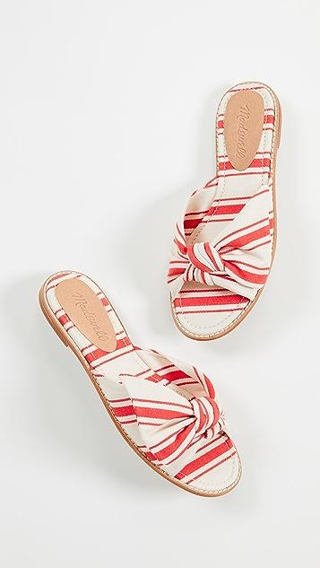 Madewell The Naida Half Bow Sandals