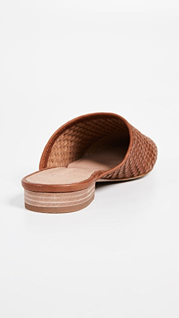 Madewell The Cassidy Woven Mules