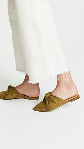 Madewell The Remi Bow Mules