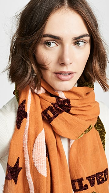 Madewell New Mexico Map Scarf