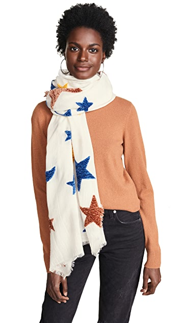 Madewell Stars and Moons Chenille Scarf