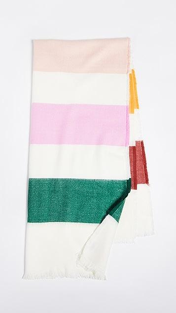Madewell Rectangle Stripe Scarf