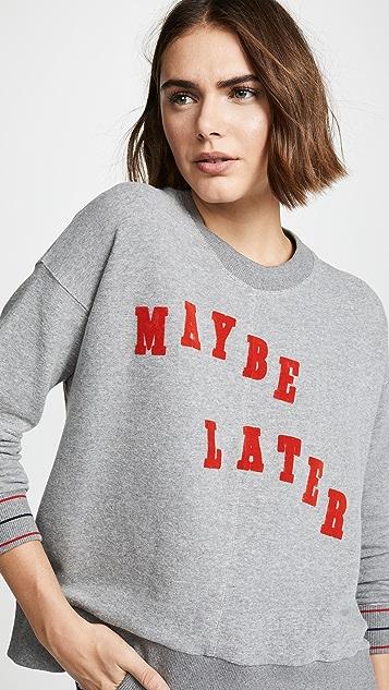 Madewell Adara Maybe Later Sweatshirt