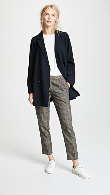 Madewell Double Breasted Solid Blazer