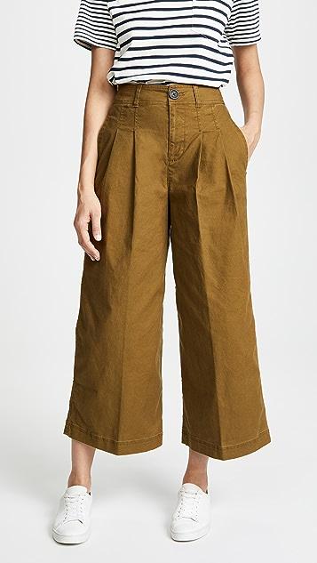 5d8d2e486ac5a Madewell Pleated Wide Leg Pants | SHOPBOP