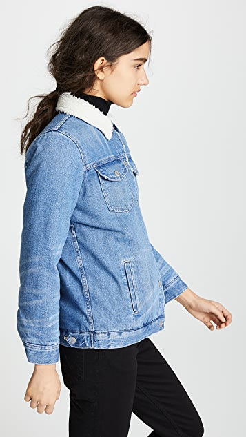 Madewell The Oversized Jean Jacket