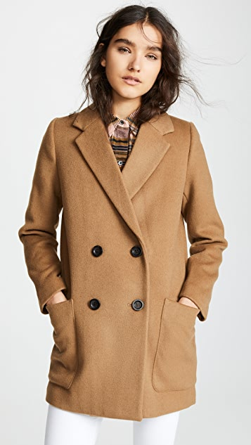 Madewell Double Breasted Blazer