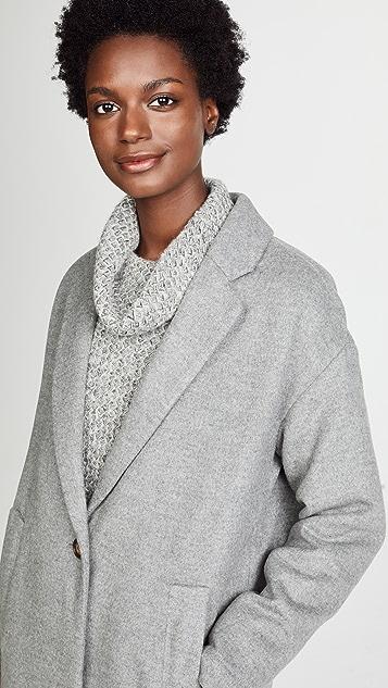 Madewell Solid Monsieur Coat