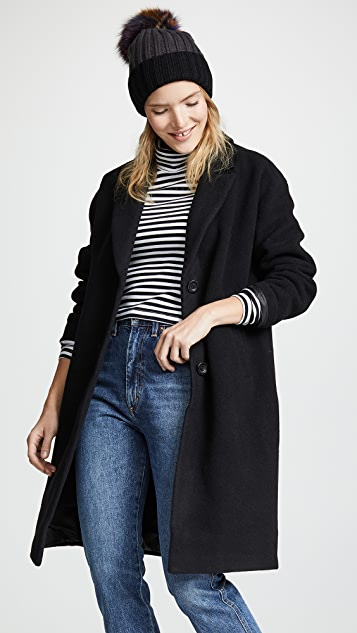 Madewell Long Cocoon Coat
