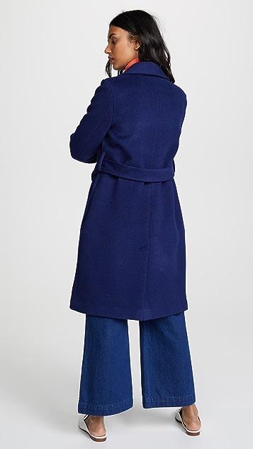 Madewell Shawl Collar Coat