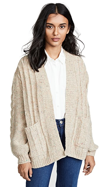 Madewell Sally Cable Cardigan