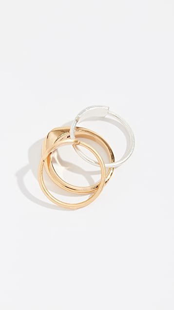 Madewell Наборное кольцо с печаткой