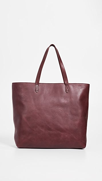 Madewell Zipper Transport Tote