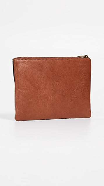 Madewell The Haircalf Pouch Clutch