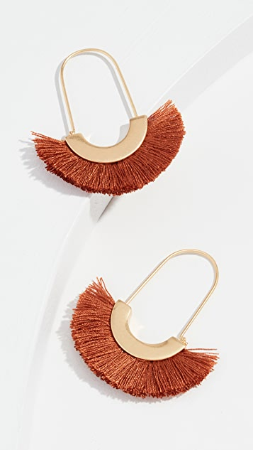 Madewell Arc Fringe Earrings