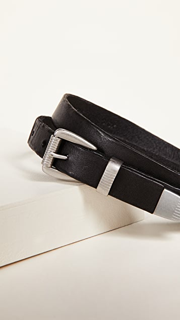 Madewell 3 Piece Clean Western Belt
