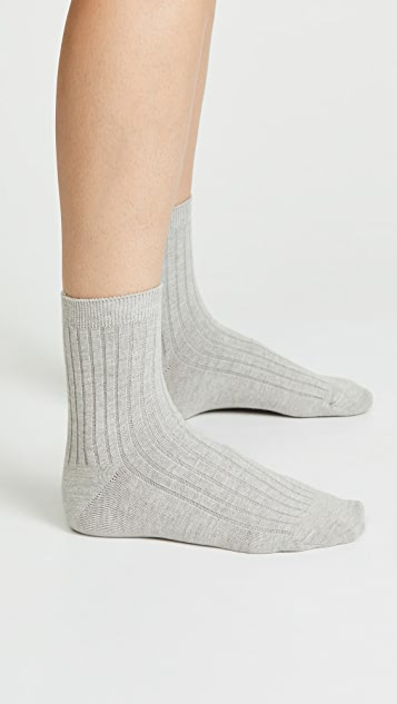 Madewell 两件装踝袜