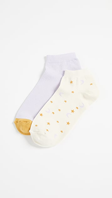 Madewell Two Pack Anklet Socks