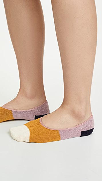 Madewell 2 Pack Colorblock No Show Socks