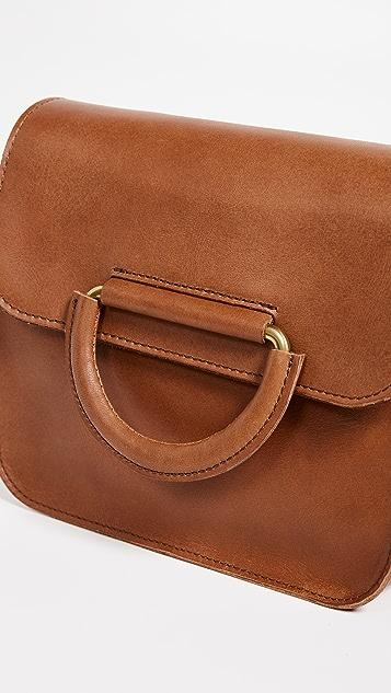 Madewell D Ring Flap Shoulder Bag