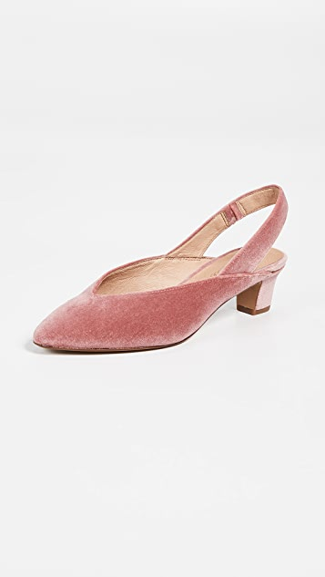 Madewell The Etta Slingback Pumps