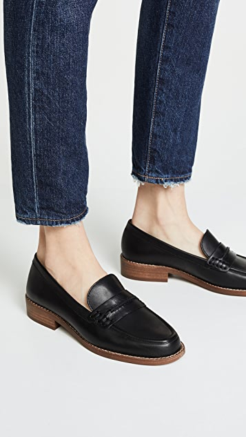 Madewell The Elinor 平跟船鞋
