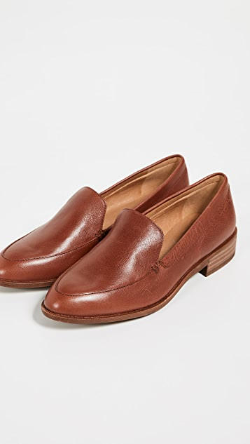 Madewell Frances Loafers - Burnished Mahogany