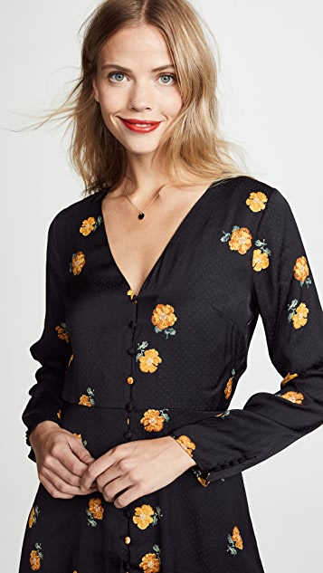 Madewell Floral Retro Dress