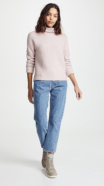 Madewell Belmont Mock Neck Sweater