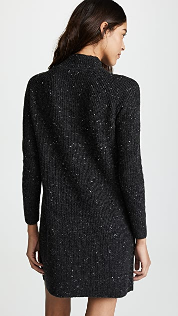 Madewell Mockneck Sweater Dress